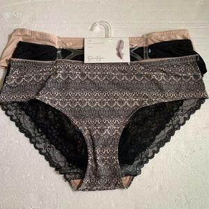 Jessica Simpson FullFigure Hipster Lacy Panties 3X